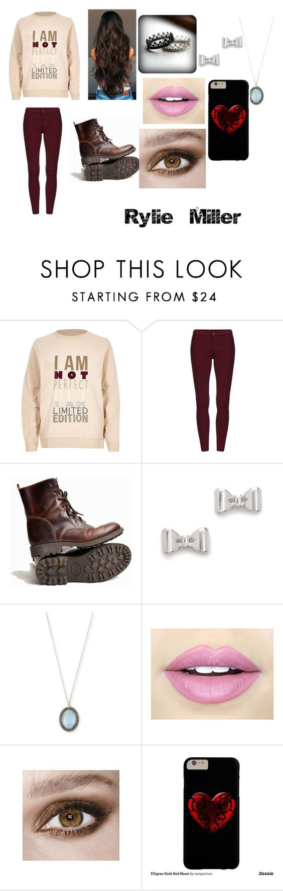 """I am the queen"" by kawaii-much ❤ liked on Polyvore featuring River Island, Marc by Marc Jacobs, Armenta and Fiebiger"