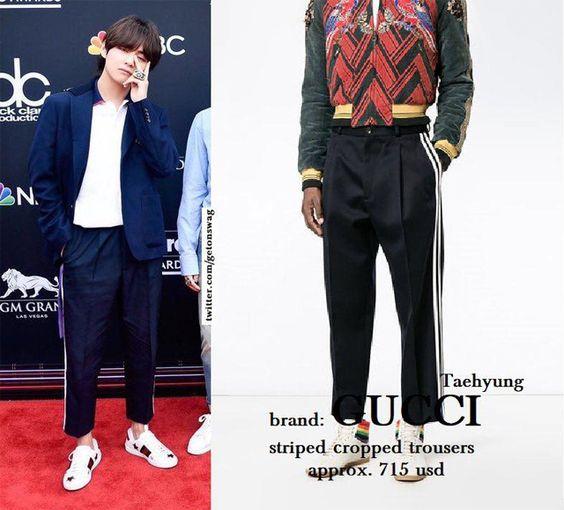 """Choáng váng khi """"bóc giá"""" loạt trang phục của BTS trên thảm đỏ Billboard Music Awards 2018 - Thegioitre"""