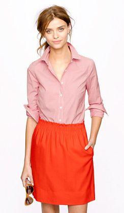 STRETCH PERFECT SHIRT IN MINI-GINGHAM #JCREW  http://www.jcrew.com/womens_feature/NewArrivals/shirtstops/PRDOVR~93088/93088.jsp