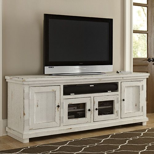 "Progressive Furniture Willow 74"" TV Stand & Reviews | Wayfair $559.00"