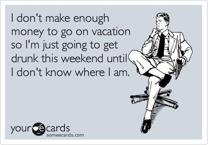 Just this weekend?