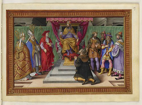 The submission of the landgrave of Hesse
