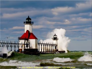 North Pier, St Joseph, MI photo by Mark Parren