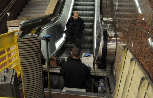 An Escalator Is Essentially A Moving Staircase That Transports Individuals From One Place To Another Typically To Another L Escalator Safety Audit Elevation