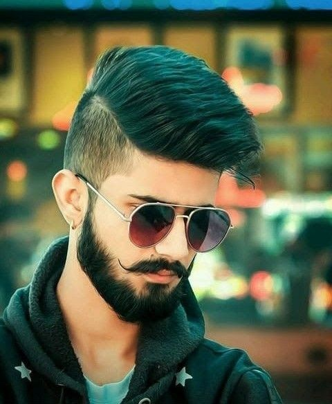 Indian Boy Haircut Images Secondtofirst Com Easy And Cute Hairstyles For Curly Hair Pin By V Long Hair Styles Men Long Hair Styles Mens Hairstyles With Beard