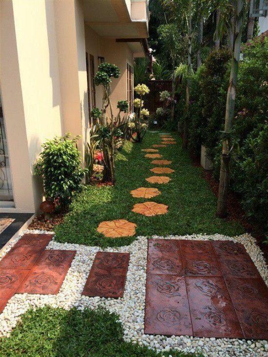 Taman Kebun Di Halaman Rumah