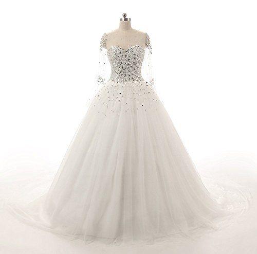 Ellenhouse Champagne Beaded Sweetheart Bridal Wedding Dre... https://www.amazon.com/dp/B01GZHZ4SO/ref=cm_sw_r_pi_dp_PEoAxb084WPSY