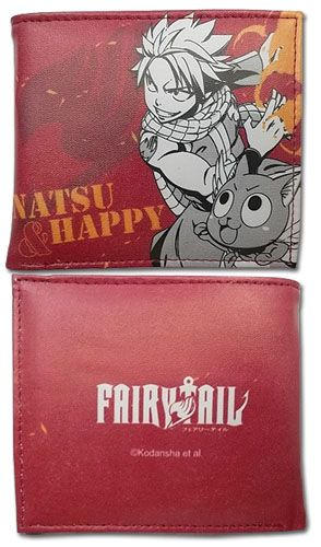Keep your favorite anime close to you with this swanky Fairy Tail Wallet! AnimeStuffStore.com