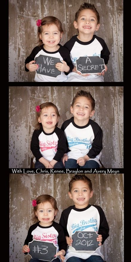 Third child announcers- if I ever have a third one :)