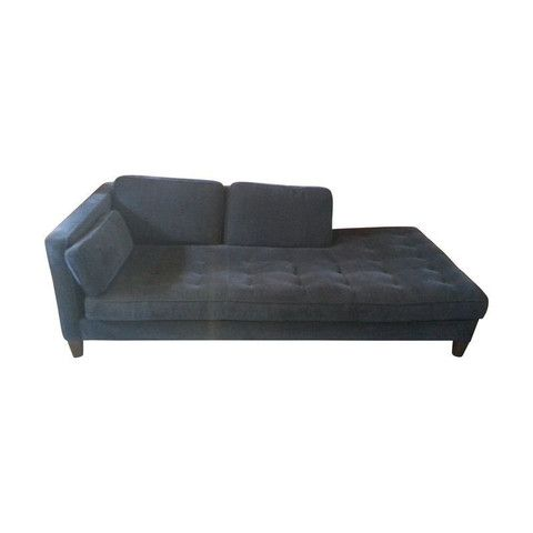 Shenandoah Furniture Blue Chaise By Chairish