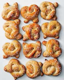 Sweet Pretzels on Epicurious, fall, fall food, autumn, autumn food, Oktoberfest, pretzels, soft pretzels
