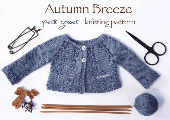 "PDF Knitting Pattern, Sweater Knitting Tutorial for 16-18"" doll, 2 Styles"