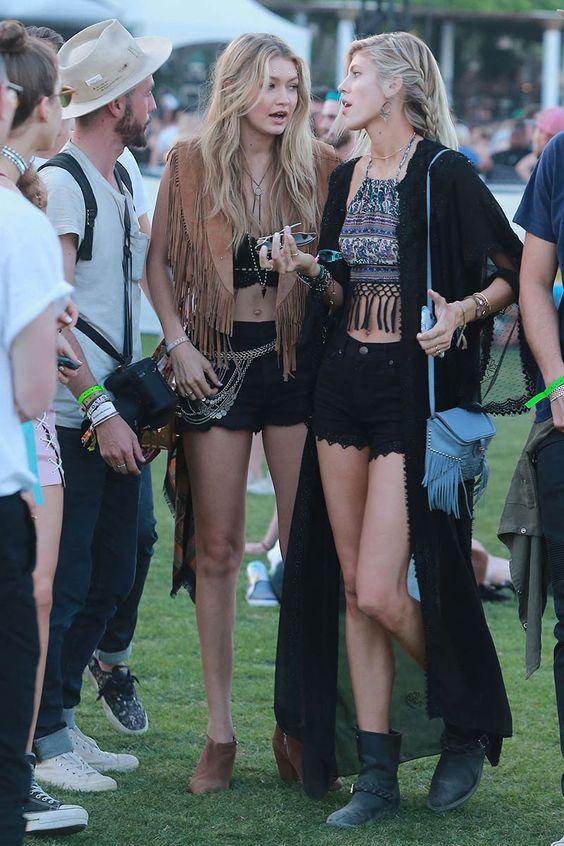 Los mejores looks del festival de #Coachella © Getty Images/ Cordon Press/ Gtresonline: