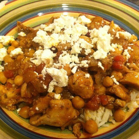 Greek Chicken Stew (Feta optional). From Mealfit.co