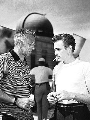 Nicholas Ray und James Dean, Quelle: dpa