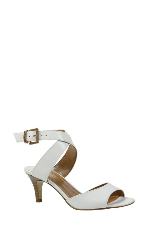 Wedding Shoes From Nordstroms In 2020 Ankle Strap Sandals Strap Sandals Women Ankle Strap