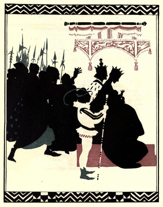 'The Sleeping Beauty', told by C.S. Evans and illustrated by Arthur Rackham. Published 1920 by Williams Heinemann, London.