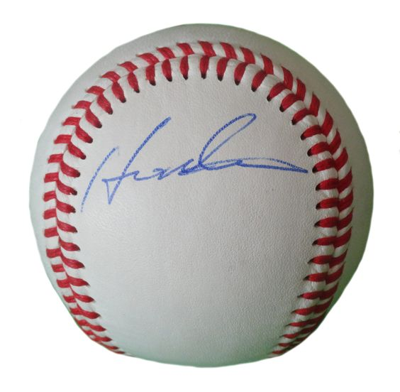 LA Angels Hideki Matsui signed Rawlings ROLB leather baseball w/ proof photo.  Proof photo of Hideki signing will be included with your purchase along with a COA issued from Southwestconnection-Memorabilia, guaranteeing the item to pass authentication services from PSA/DNA or JSA. Free USPS shipping. www.AutographedwithProof.com is your one stop for autographed collectibles from Los Angeles sports teams. Check back with us often, as we are always obtaining new items.