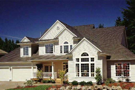 Houseplans.com Front Elevation Plan #48-142