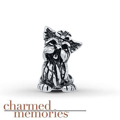 Yorkie Pandora Charm
