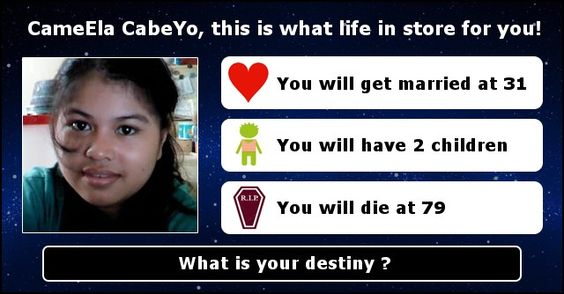 What is your destiny ?