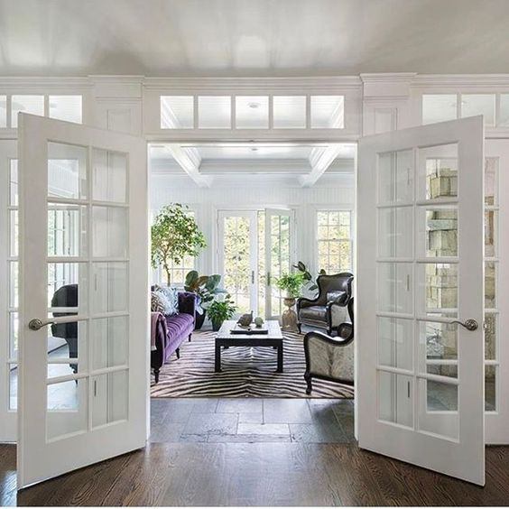 love me some French doors