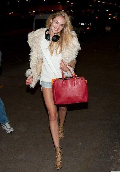 prada brown leather handbag - Celebs that Carry\u2026 Prada Saffiano Classic Tote | Celebs, Prada and ...