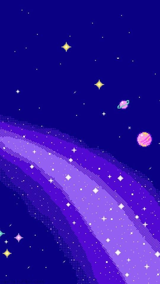 Pixel Art Wallpaper Tumblr Vaporwave Aesthetic Iphone Purple