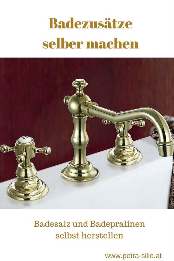 Tannennadeln aus dem Wald, Milch für ein Kleopatra-Bad oder selbstgemachte Badepralinen und -salze sind einfacher herzustellen als gedacht.
