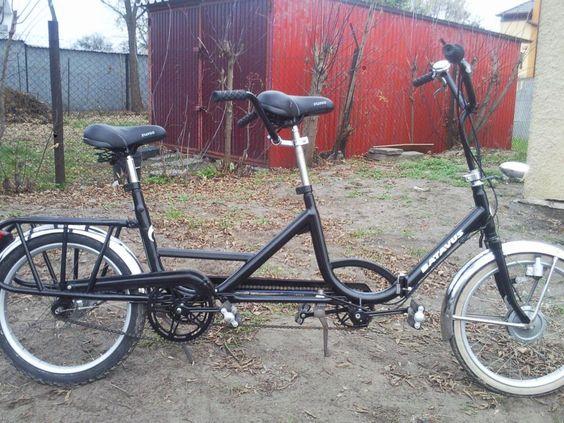 rower tandem  - ten rower kupiłam :)