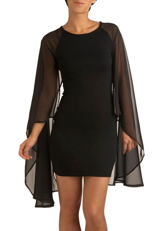 Chiroptera Cutie Dress $68  #sheer #evening #dress