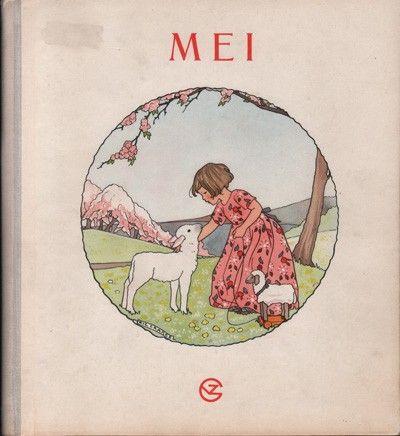 Rie Cramer, maandenboeken : Mei, bloeimaand. 1: