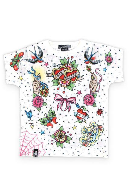 I love rock white enfants-t-shirt