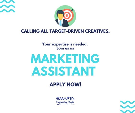 We Are Looking For An Experienced Marketing Assistant To Join Our