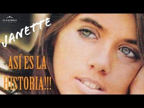 La Biografía De Jeanette La Recuerdas Youtube Biografía Youtube Cantantes