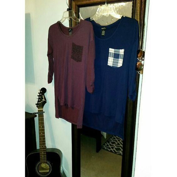 High and low shirts bundle Two high and low shirts Rue 21 Tops Tees - Long Sleeve