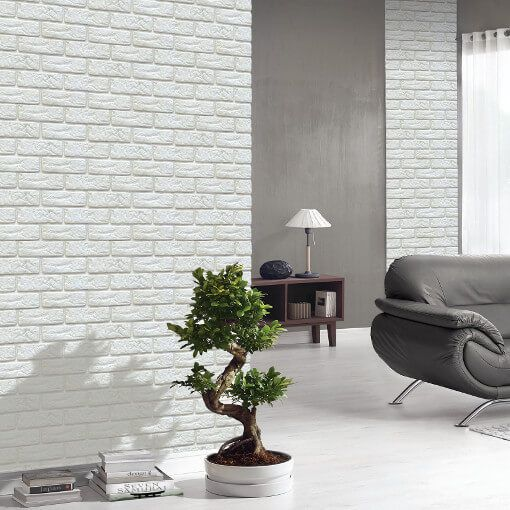 Brick Effect Wall Panels Latest Trends In Interior Design Uk Wide In 2020 Brick Effect Panels Faux Brick Walls Brick Wall Paneling