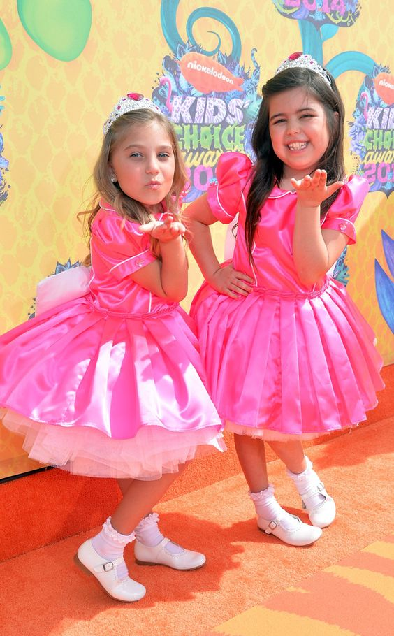 Sophia Grace Brownlee and Rosie Grace McClelland from 2014 Kids' Choice Awards: Red Carpet Arrivals | E! Online