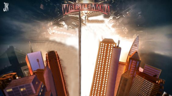 Wwe Wrestlemania 35 Nameplate Custom Match Card Png Custom Matches Wrestlemania 35 Wwe
