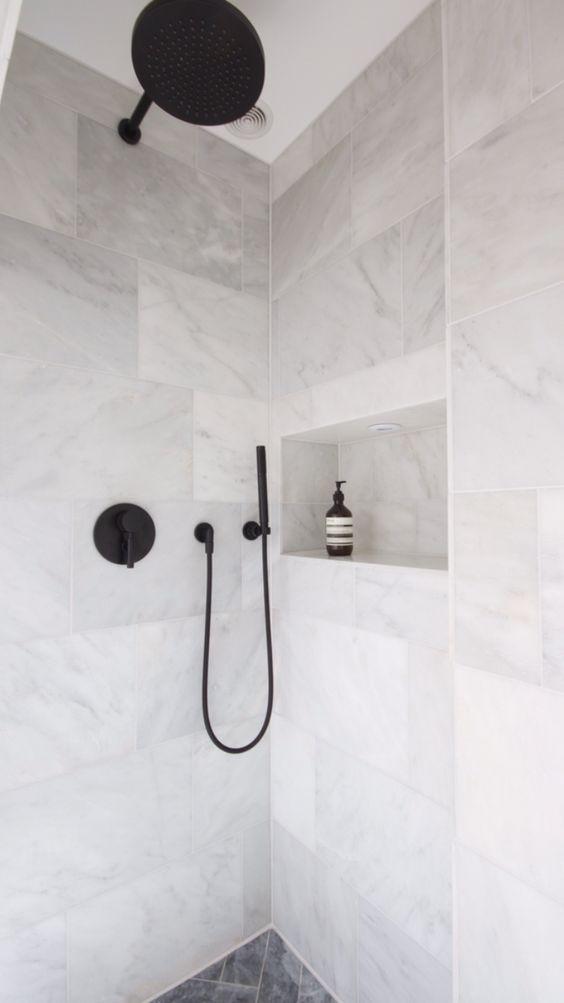 10 Luminous Simple Ideas Industrial Minimalist Interior Window Minimalist Kitchen Design But Bathroom Tile Designs Marble Bathroom Floor Black Marble Bathroom