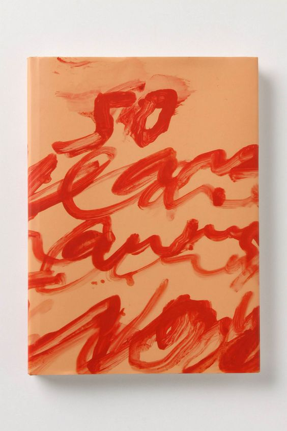 Cy Twombly book