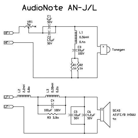 An Crossover Audio Amplifier Electronic Circuit Projects Speaker Design