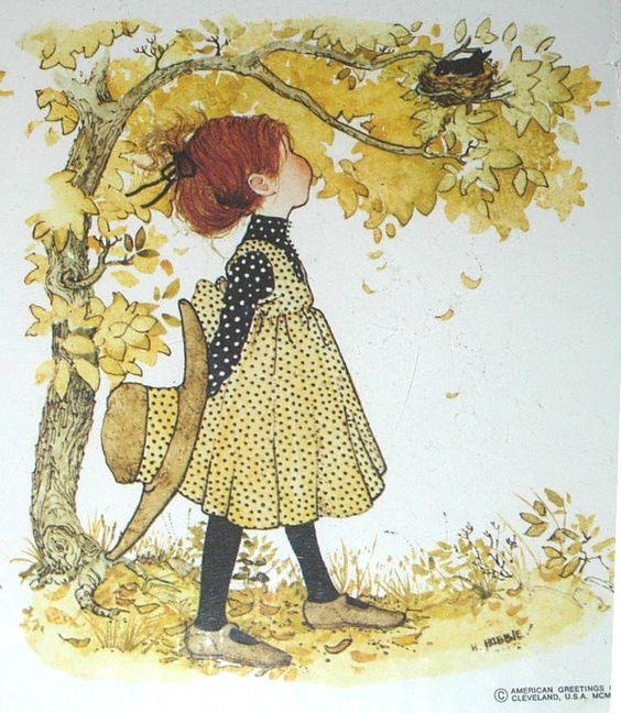 2 Vintage 1960s Holly Hobbie Prints 8x10 American Greetings for…