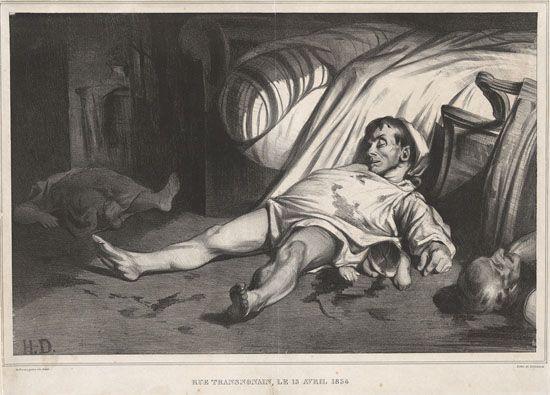 Honore Daumier, Rue Transnonain