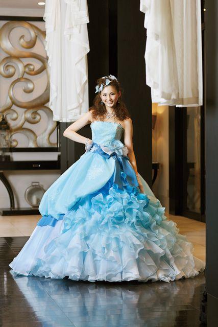 押切もえふんわりした可愛いドレス
