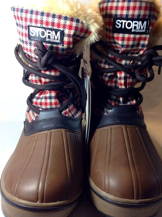 Womens Snow Boots Size 7 M Storm By Cougar Alpen Waterproof Winter