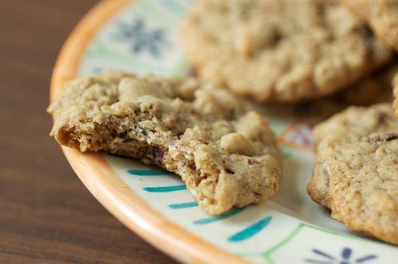 skinny oatmeal chocolate cookies