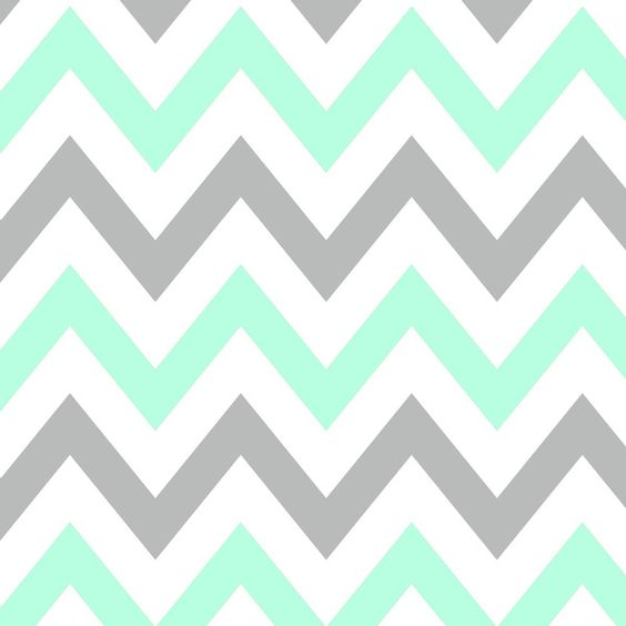 MINT amp GRAY CHEVRON Art Print Cases Patterns And IPhone Wallpapers