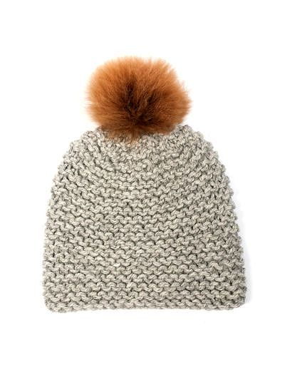 TOFT Beanie knitting pattern: CHUNKY British alpaca wool yarn knitting kit be...