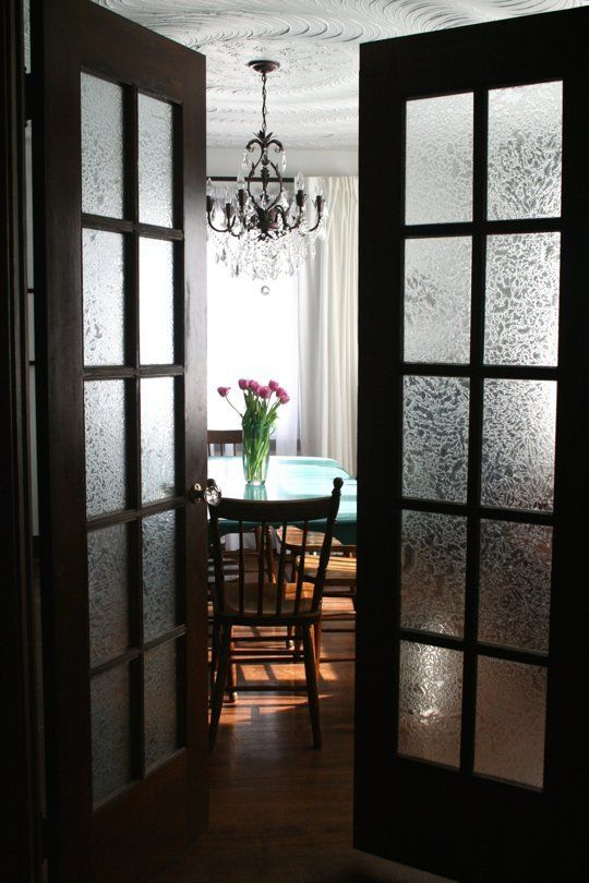 Renee 39 s elegance on a budget glasses french doors and window - Interior french doors for office ...